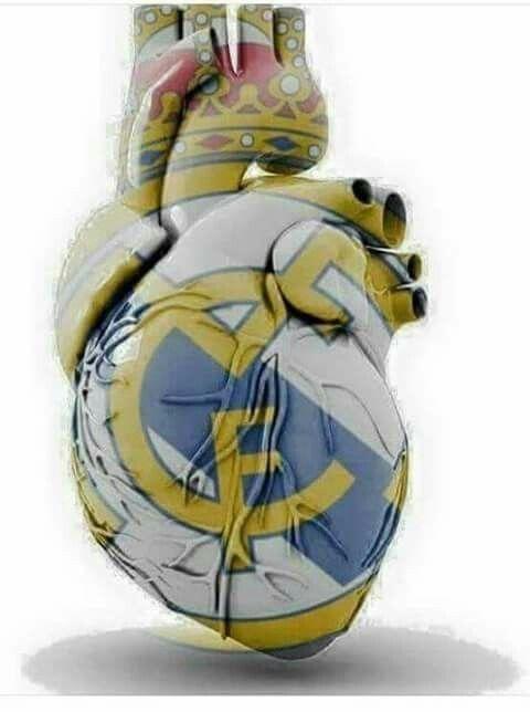 Serce Real Madryt #real #realmadrid #football #soccer #sport #sports #pilkanozna #futbol