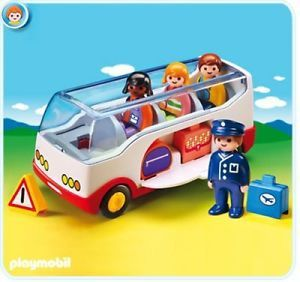 Playmobil 1.2.3 Airport Shuttle Bus Review!
