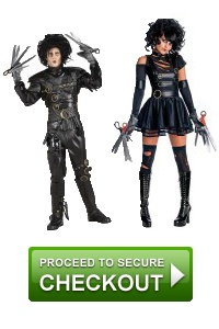 Scary couple costumes
