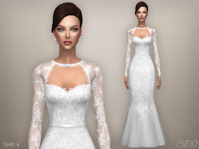 vestidos de boda sims 4 – vestidos de mujer