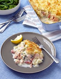Mary Berry -  Salmon and Crayfish Tail Pie