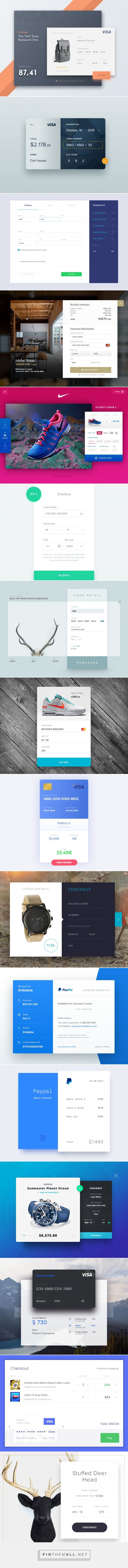 Checkout/Payment Pages - created via https://pinthemall.net