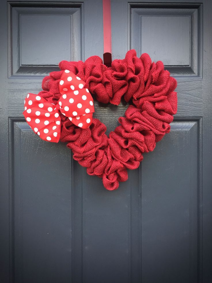 438 best wreaths heart shape images on pinterest craft heart red heart wreath red heart decor love gift heart gifts heart decor negle Gallery