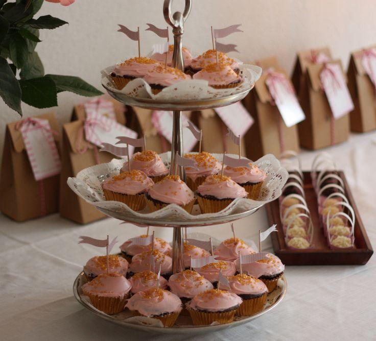 Cupcake and brigadeiro