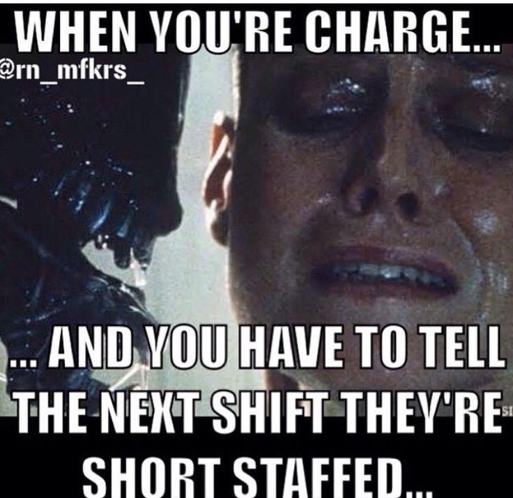 Charge nurse problems