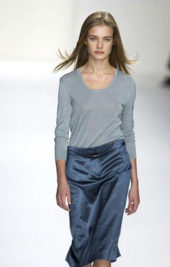 Soft Summer Natalia Vodianova in Grey/Blue - calvinklein.com