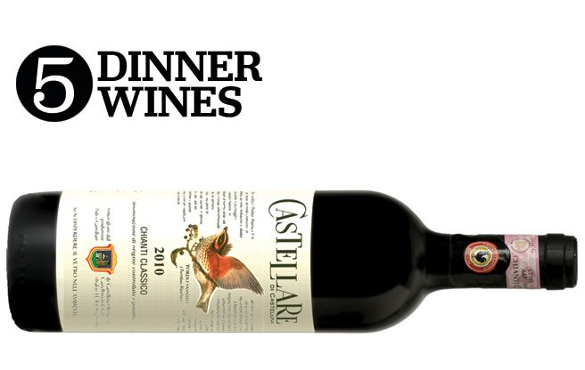 Eating and Drinking 2013: Dinner Companions (5 Dinner Wines)