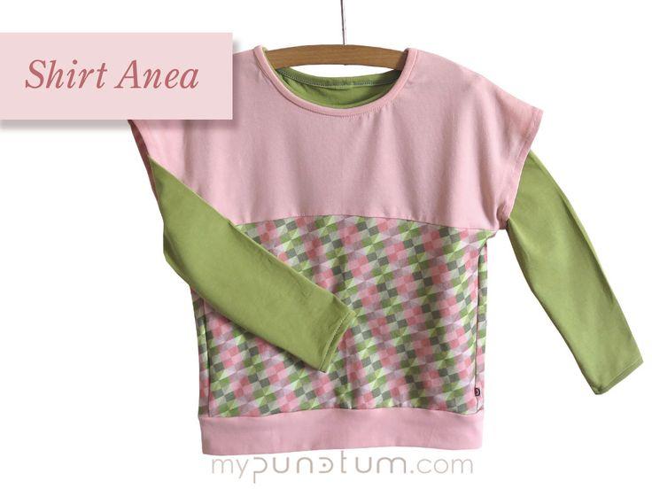 Schon mal probiert? Unser Shirt Anea lässt sich prima mit Longshirts kombinieren. Passende Longshirts sowie verschiedene Shirts findet Ihr wie immer bei:  >> de.dawanda.com/shop/mypunctum >> etsy.com/de/shop/mypunctum  Keinen Login für Dawanda oder Etsy? Kein Problem: >> Schick eine Email an office@mypunctum.com