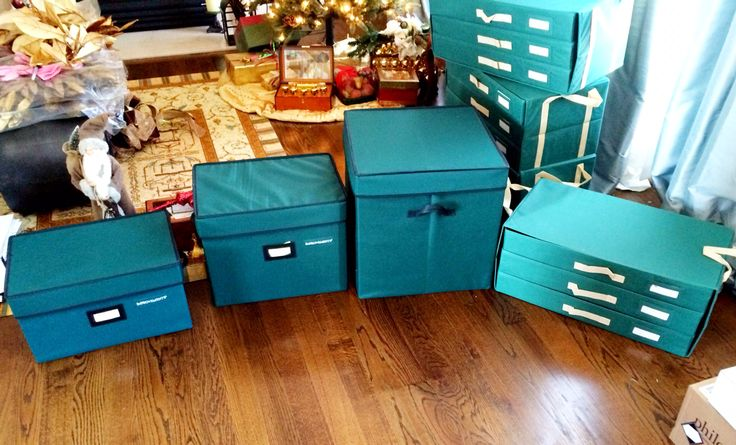 That way I can organize them into the different sizes of boxes. Different boxes for different rooms. Boxes from Home Improvement Catalog