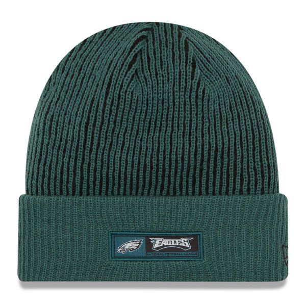 Philadelphia Eagles New Era Youth 2016 Sideline Official Tech Knit Hat - Green - $21.99