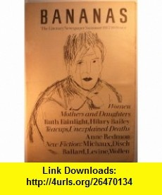 BANANAS THE LITERARY NEWSPAPER #8 Emma Tennant, J.G. Ballard, Henri Michaux, Thomas Disch ,   ,  , ASIN: B004VRR9NY , tutorials , pdf , ebook , torrent , downloads , rapidshare , filesonic , hotfile , megaupload , fileserve
