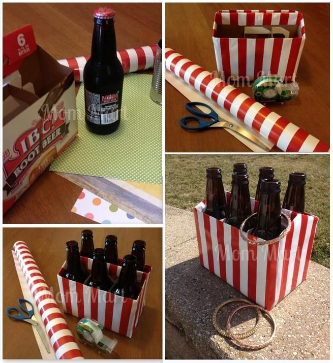 cardboard carnival DIY | DIY Carnival Games for Kids  Pop bottles in cardboard case, decorated, use plastic bracelets for rings. Brilliant!
