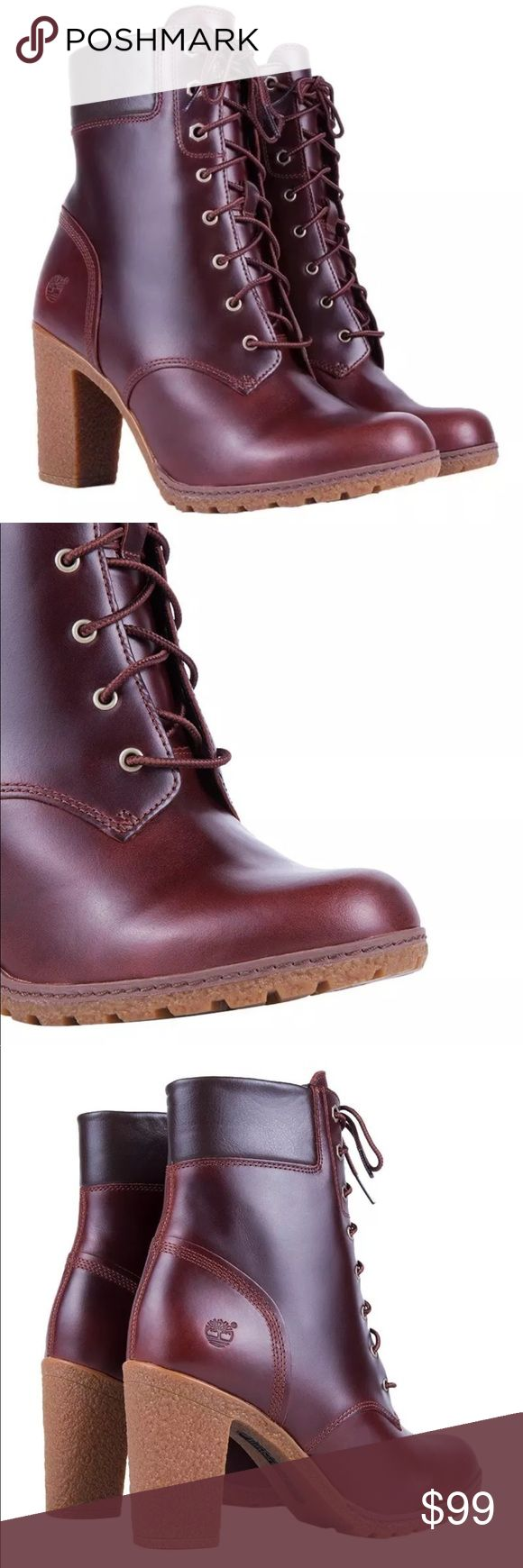 """TIMBERLAND WOMEN'S GLANCY 6-INCH BOOTS TIMBERLAND WOMEN'S GLANCY 6-INCH BOOTS Dark Brown Smooth Leather 3""""Heel. Pls ask me for your size if it's not listed. Serious inquires only thanks. Hot sale Timberland Shoes Ankle Boots & Booties"""