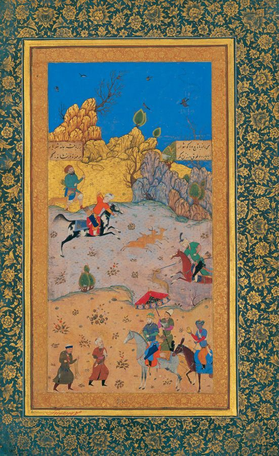 Hunting Ground by Kamal ad-din Behzad