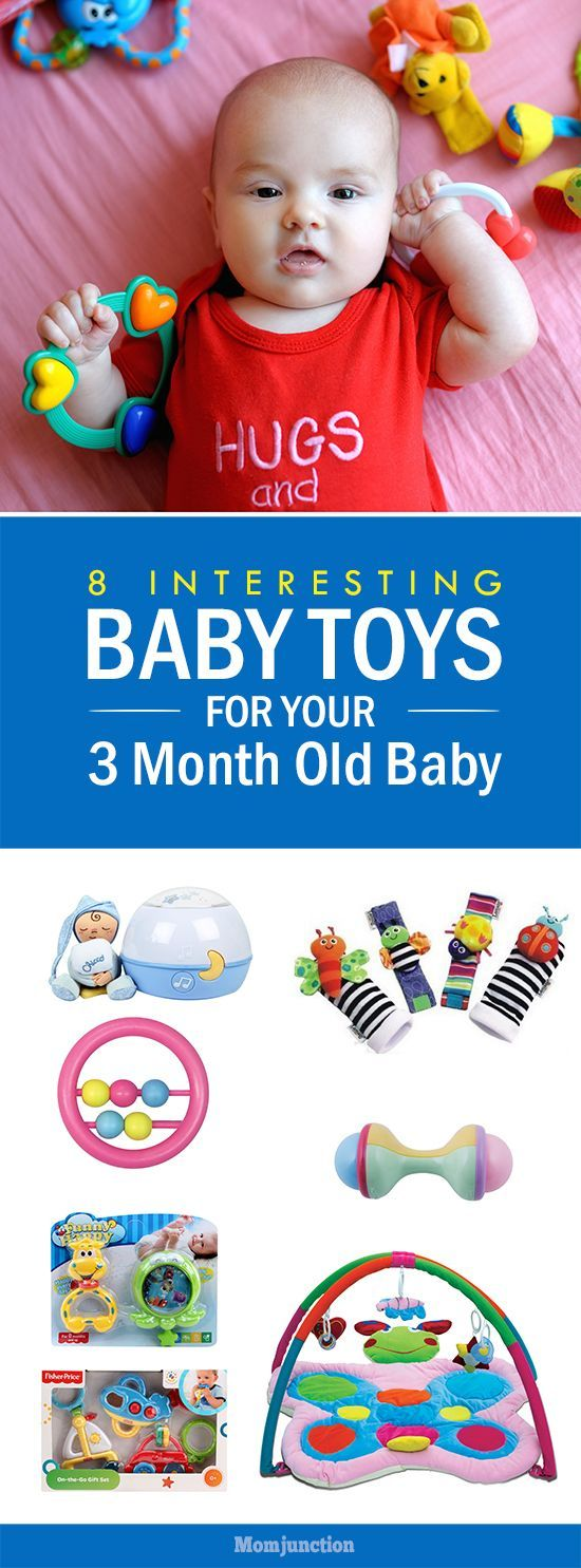 8 Interesting Baby Toys For Your 3 Month Old Baby