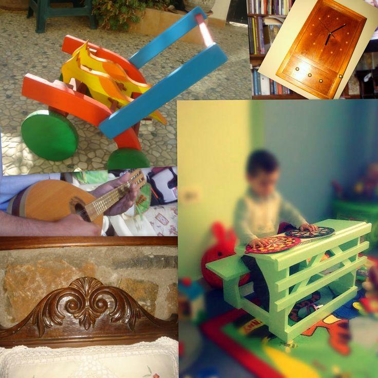 Με θέμα τo ξύλο ... και όχι μόνο: Διάφορα, παιδικά και μη ..