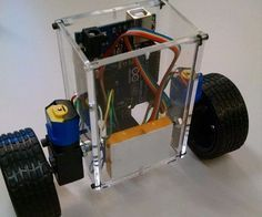This details the final project for the Mechatronics course at Rowan University. For this project, a robot was designed and constructed to use an Arduino board, motors and an accelerometer to balance upright on two wheels. To accomplish this, the body of the robot was designed in Solidworks, and cut from acrylic using a laser cutter. The robot was then assembled, and Arduino code was developed to read the accelerometer input signal and output a signal to the motors. Values in this code were…
