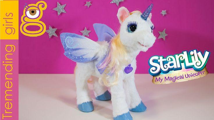 Starlily Mi Unicornio Mágico - Starlily My Magical Unicorn toy - Juguete...