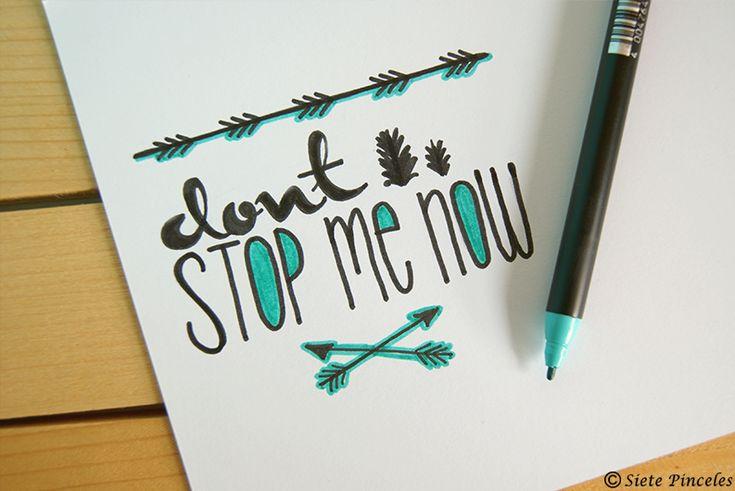 Hand Lettering 3: aprendiendo caligrafía