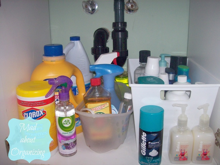 Photo Gallery For Website Under the sink storage solutions How to organize your bathroom cabinet