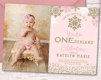 best 25+ winter onederland invitations ideas on pinterest | winter, Birthday invitations