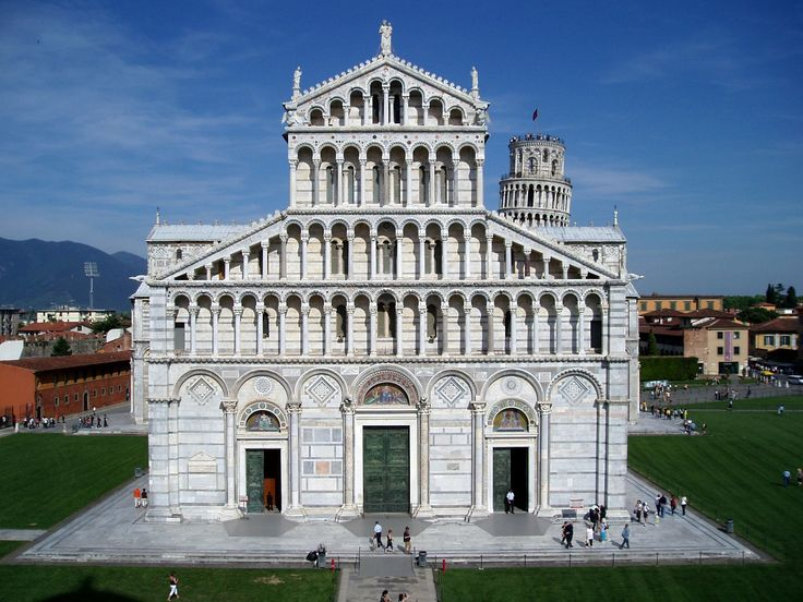 Pisa Cathedral façade