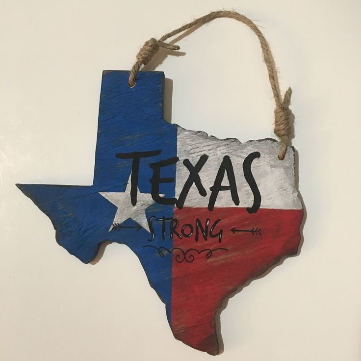 Texas Strong state sign
