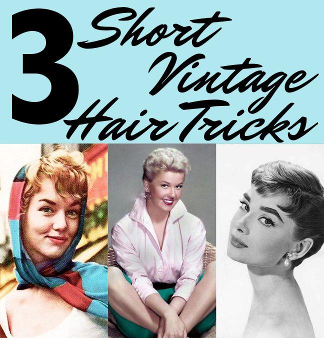 Kurze Vintage Hair Trend Style Ideen