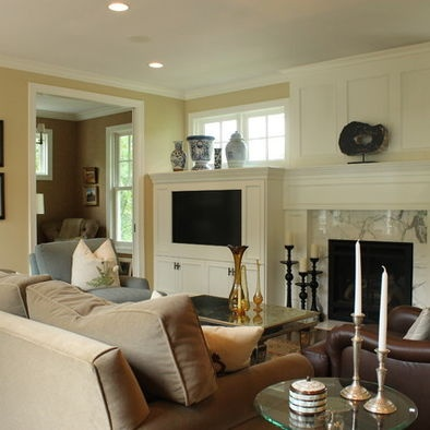 cape cod house living room