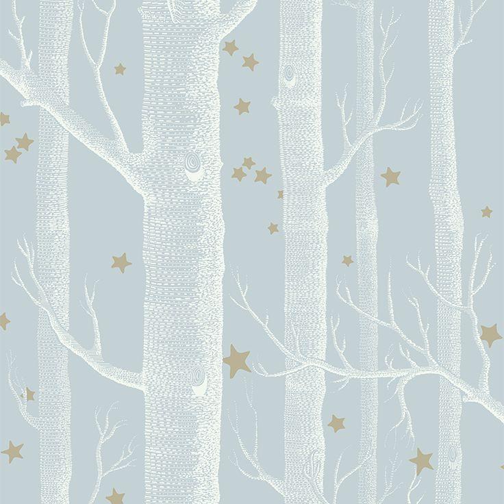 Cole & Son Whimsical_Woods & Stars 103-11051 Cole & Son behang wallpaper behangpapier behang woonkamer behang slaapkamer behang kinderkamer interieur design