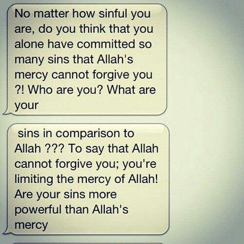 Mercy of Allah