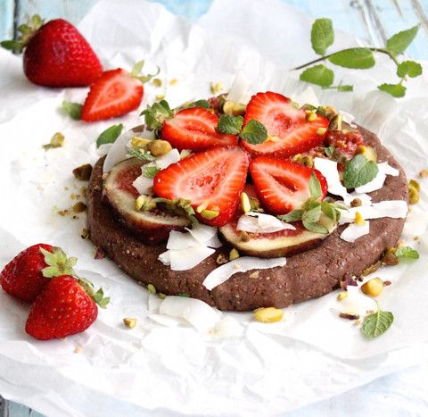 Chocolate Protein Pizza