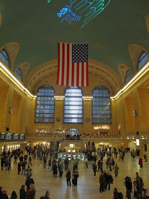 グランドセントラル駅も行きたい。ニューヨーク 旅行・観光の見所!