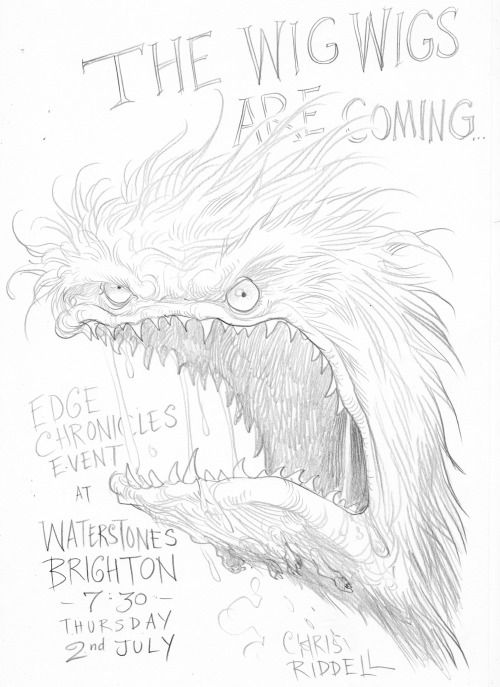 Beware the wig wigs from Chris Riddell and Paul