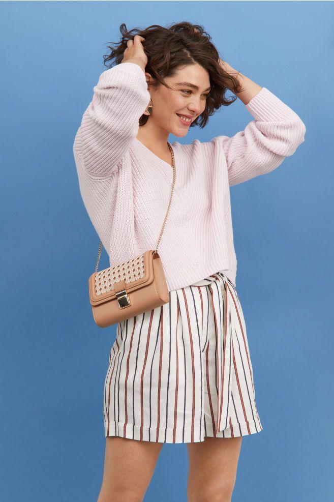 V Neck Cotton Sweater Cotton Sweater Sweaters Fashion