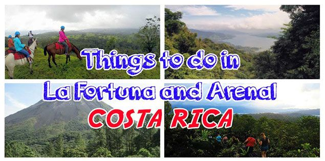 Arenal is one of the top destinations in Costa Rica. Here are the best things to do in La Fortuna and Arenal such as horseback riding, ziplining & more!