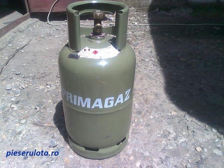 Se ofera spre vanzare butelie pe gaz, originala pentru rulota si care are capacitatea de 11 litri.