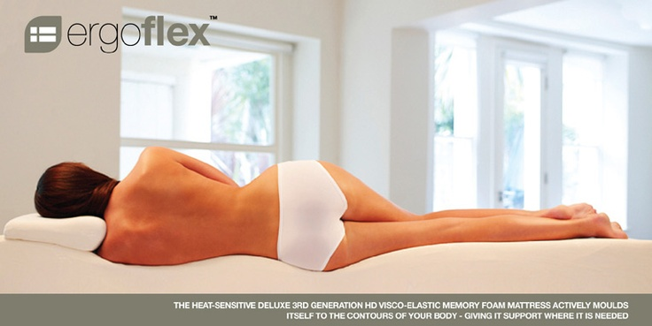 A temperature sensitive, pressure-relieving mattress that moulds itself to the contours of your body. http://www.ergoflex.com.au/guide-to-memory-foam