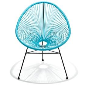 39 Acapulco Replica Chair Blue Kmart Available In Black Wicker Patio Lounge Chairs