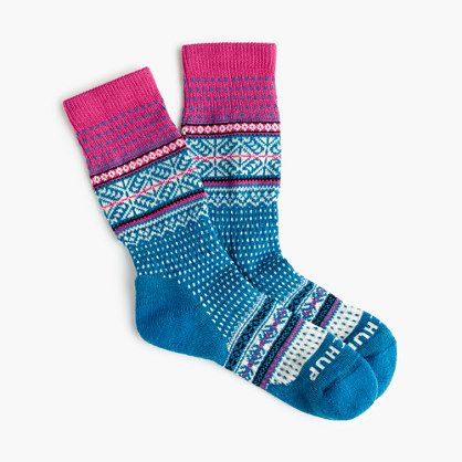 "These socks from Tokyo-based Chup are limited edition (seriously, the company makes only a handful each day) and made from moisture-wicking smartwool. Chup, an acronym for ""Classical Human's Universal Peace,"" refers to the sun, the moon and the stars in the sky, which the Ainu (Japan's native people) worshipped. <ul><li>Wool.</li><li>Machine wash.</li><li>Made in the USA.</li></ul>"