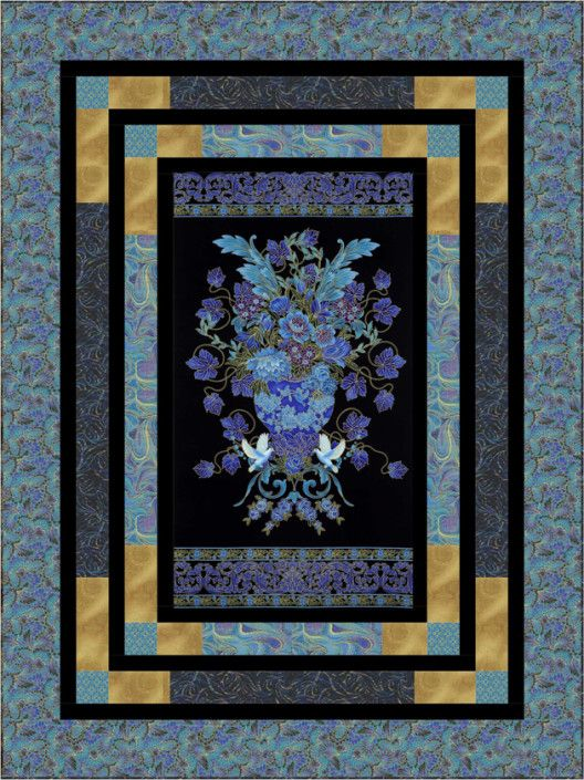 181 Best Images About Panel Quilts On Pinterest Robert