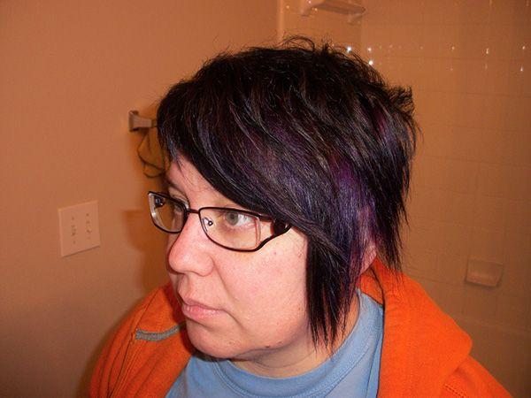 Blue Highlights For Rich Brown Hair