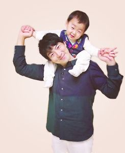 Minguk with appa | The Return of Superman Jadi di foto ini yang unyu dan…