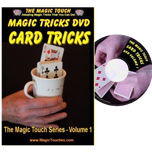 Magic Card Tricks - Amazing Card Tricks Dvd Volume 1 - With Full Demonstration And Explanation Of Basic Skills To Enable You To Perform Many Stunning Magical Effects With Sleight Of Hand Tricks, Self Working Tricks And Mind Reading Card Tricks, 2015 Amazon Top Rated Magic Kits & Accessories #Toy