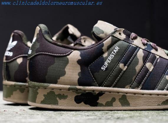 Zapatillas Adidas Superstar Hombre Camufladas