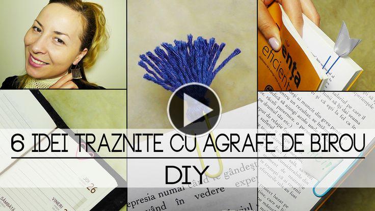 6 Idei Trăznite Cu Agrafe De Birou | DIY
