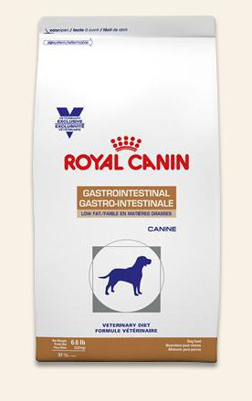 Royal Canin GI Low Fat Dry for Dogs is a complete and balanced diet to assist in the nutritional management of acute and chronic pancreatitis; acute and chronic diarrhea; hyperlipidemia; lymphangiectasia; exudative enteropathy; bacterial overgrowth, antibiotic-responsive diarrhea (ARD); exocrine pancreatic insufficiency (EPI); and bile acid deficiency. Maintains balance of gastrointestinal microflora and intestinal mucosa.