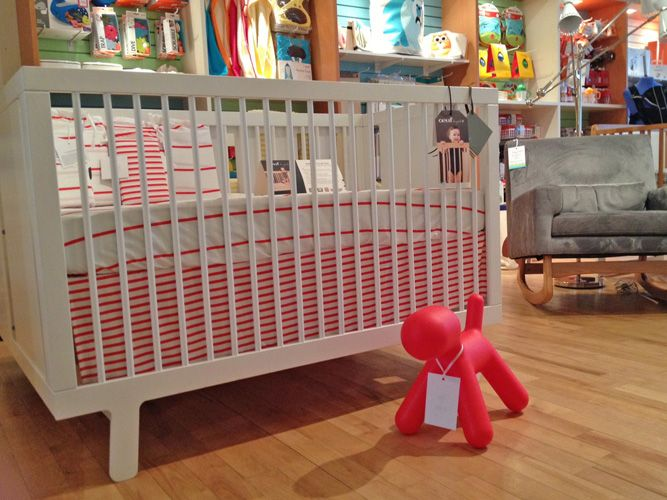the oeuf nyc sparrow crib at the ellaelliot store in toronto