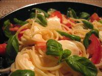 Italialaiset ruoat - Resepti 3 - Mozzarella pasta