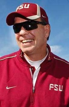 Jimbo Fisher, FSU football coach.